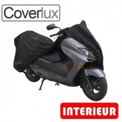 Housses de protection scooter en Jersey 100% Polyester, bâche scooter protection intérieure Coverlux de taille MS
