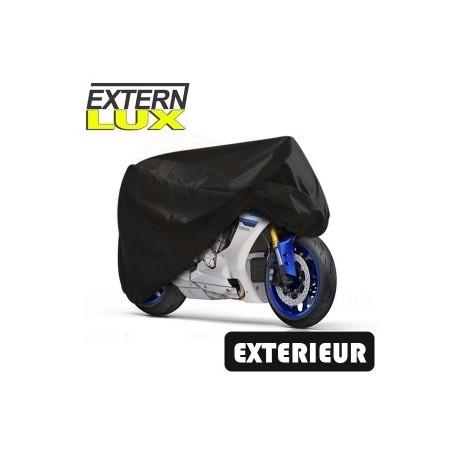 Housses de protection moto en PVC, bâche moto protection extérieure Externlux BA