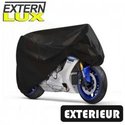 Housses de protection moto en PVC, bâche moto protection extérieure Externlux de taille CU
