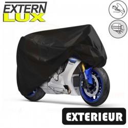 Housses de protection moto en PVC, bâche moto protection extérieure Externlux (Bulle + Top case) de taille BA
