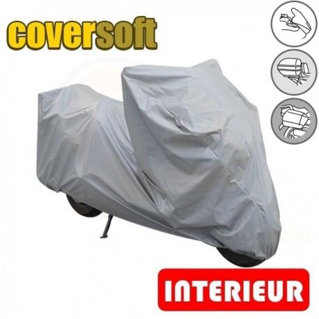 Housses de protection moto 100% Polypropylène, bâche moto protection intérieure Coversoft de taille CU