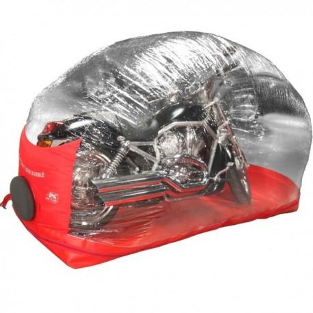 Abri gonflable pour motos et scooters - Extérieur / Intérieur