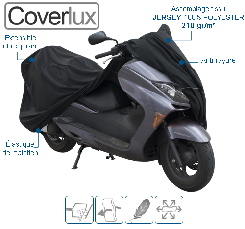 housse de protection moto en Jersey COVERLUX