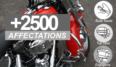 +2500 affectations motos et scooters